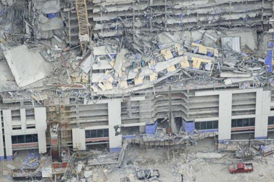 Ξενοδοχείο στη Νέα Ορλεάνη καταρρέει σαν χάρτινος πύργος - Δύο νεκροί