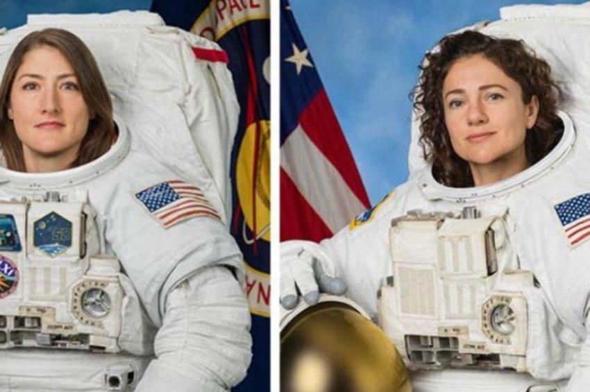 Η NASA επισπεύδει τον γυναικείο διαστημικό περίπατο