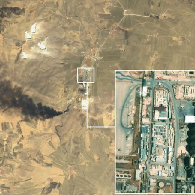 Συρία: Η Πολεμική Αεροπορία των ΗΠΑ κατέστρεψε εργοστάσιο με πυρομαχικά και εξοπλισμό