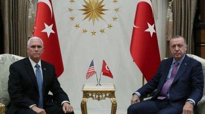 Τι είπε ο Πενς για τη συμφωνία κατάπαυσης του πυρός - Αμερικανός αξιωματούχος: Οι Τούρκοι δεν θα μείνουν στη Συρία για μεγάλο διάστημα