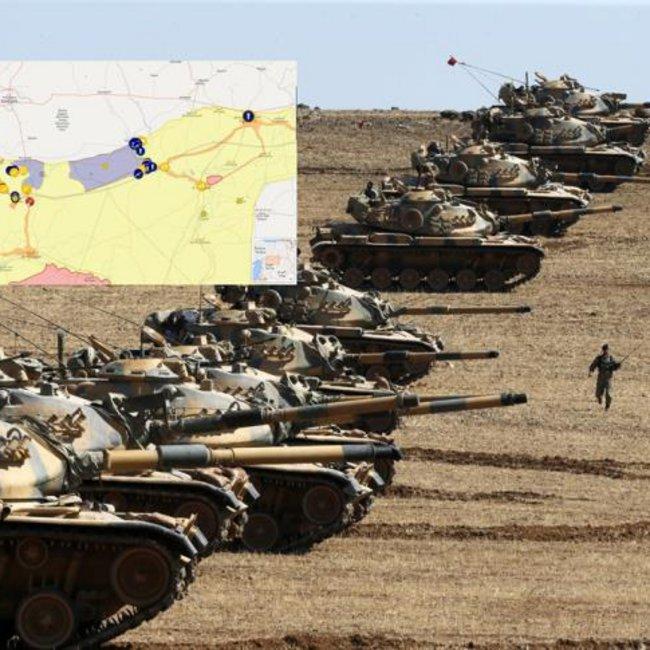 Πού έφτασαν οι Τούρκοι μέχρι την εκεχειρία - Χάρτες με την διάταξη των ένοπλων δυνάμεων