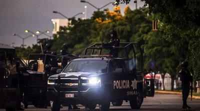 Μεξικό: Πεδίο μάχης η Κουλιακάν - Ελεύθερος αφέθηκε ο γιος του «Ελ Τσάπο»