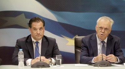 Δραγασάκης: «Ο Άδωνις τήρησε τον λόγο του» -  Αβρότητες μεταξύ νυν και πρώην υπουργών Ανάπτυξης