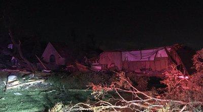 Ανεμοστρόβιλος σάρωσε το βόρειο Ντάλας - Χιλιάδες νοικοκυριά χωρίς ηλεκτρικό ρεύμα