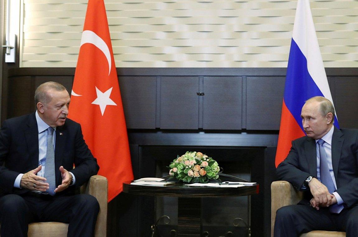 Πούτιν: Επιτακτικές οι συνομιλίες με Ερντογάν λόγω τεταμένης κατάστασης στην Συρία - Εκπνέει η εκεχειρία απόψε
