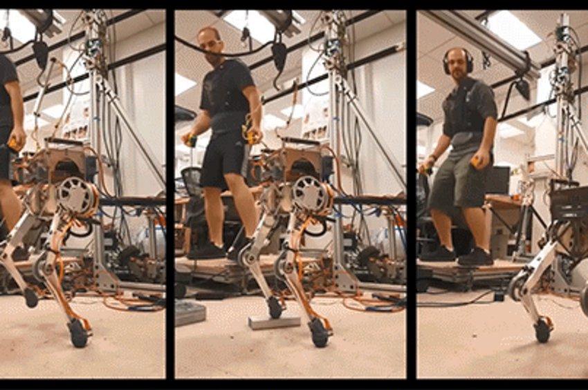 Τρέχει ο άνθρωπος, τρέχει και το ρομπότ: Το πρώτο σύστημα συγχρονισμένης τηλεμετάδοσης της κίνησης