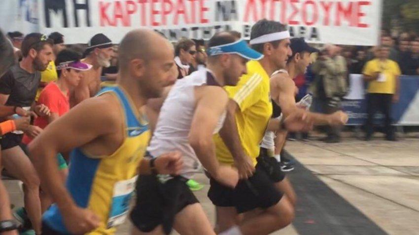 Μαραθώνιος: Ο Ανδρέας Λοβέρδος τρέχει τα 42 χλμ