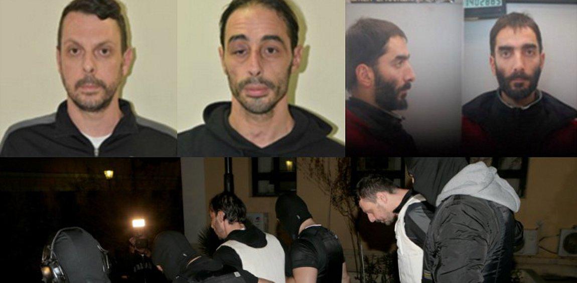 Αυτοί είναι οι συλληφθέντες και ο καταζητούμενος για συμμετοχή στην «Επαναστατική Αυτοάμυνα»