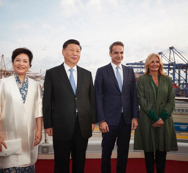 Επίσκεψη Μητσοτάκη και Σι Τζινπίνγκ στις εγκαταστάσεις της Cosco στον Πειραιά