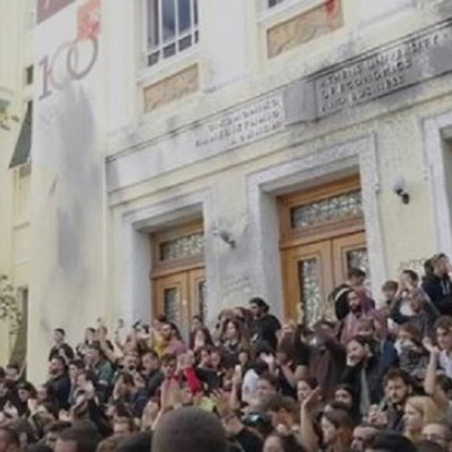 Μαρτυρία φοιτητή μέσα από την ΑΣΟΕΕ: Η κυβέρνηση θέλει να ζήσουμε ένα νέο Πολυτεχνείο