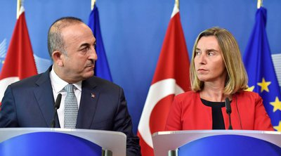 Μογκερίνι: Ταυτοποίηση προσώπων το επόμενο βήμα για τις κυρώσεις - Τουρκικό ΥΠΕΞ: Συνεχίζουμε τις γεωτρήσεις