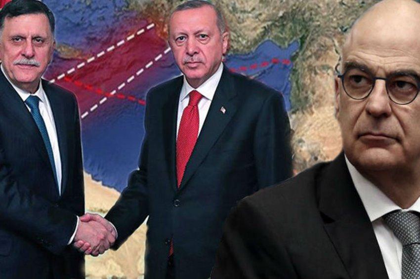 Οργή της Αθήνας από τη συμφωνία Τουρκίας-Λιβύης για ΑΟΖ: Διάβημα στον πρέσβη της Άγκυρας