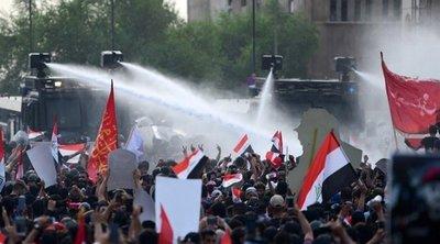 Ιράκ: Έξι διαδηλωτές νεκροί - Κυρώσεις ΗΠΑ σε ηγέτες ιρακινών παραστρατιωτικών οργανώσεων που υποστηρίζονται από το Ιράν