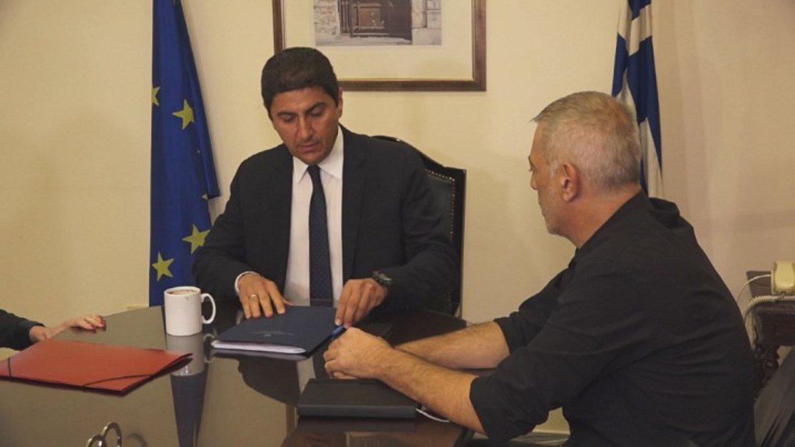 Ολοκληρώθηκε η συνάντηση της ΠΑΕ Ολυμπιακός με τον Λ. Αυγενάκη - Οι δηλώσεις