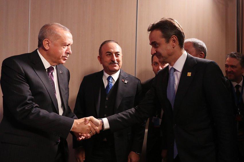 Μητσοτάκης σε Ερντογάν: Νομικά άκυρη η συμφωνία με τη Λιβύη - Καταγράφηκαν οι διαφωνίες