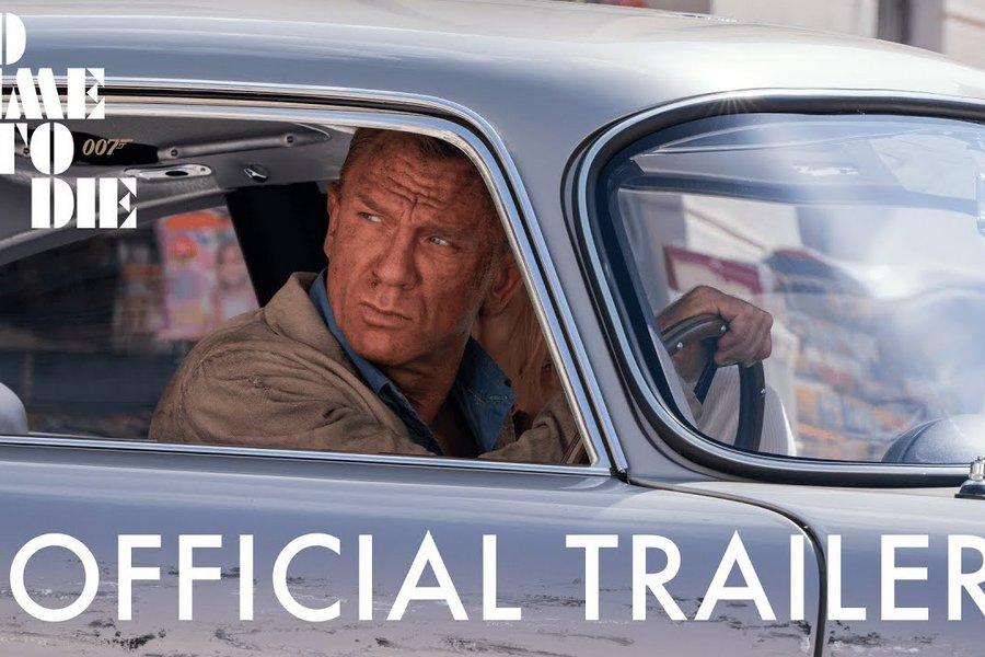 Στη δημοσιότητα το πρώτο επίσημο τρέιλερ της νέας ταινίας του Τζέιμς Μποντ: «No Time to Die»