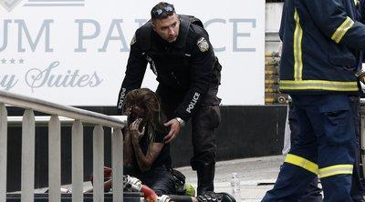 Σοβαρές ενδείξεις εμπρησμού στο ξενοδοχείο της Συγγρού - Βρέθηκαν μπιτόνια με εύφλεκτο υγρό - Διασωληνώθηκε η μία γυναίκα