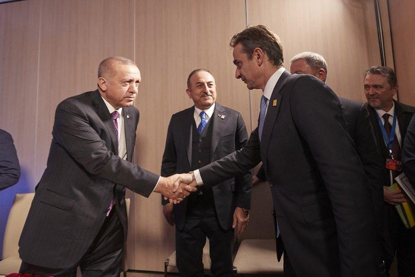 Το παρασκήνιο της συνάντησης Μητσοτάκη - Ερντογάν: Τι ειπώθηκε πίσω από τις κλειστές πόρτες