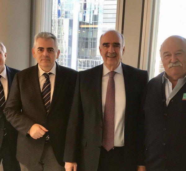Επαφές του Μ. Χαρακόπουλου στις Βρυξέλλες, επ΄ευκαιρία της προετοιμασίας της Διακοινοβουλευτικής Συνέλευσης Ορθοδοξίας