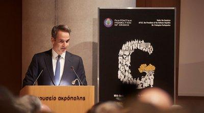 Μητσοτάκης: Πολύ βαριά τα εθνικά συμφέροντα για να υπηρετούνται με δημαγωγία