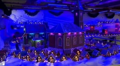 Χριστούγεννα: Έφτιαξαν «μπισκοτούπολη» 80 τ.μ. στην Πολωνία –ΒΙΝΤΕΟ