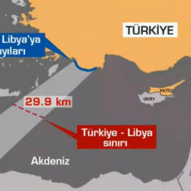 Η Τουρκία σχεδιάζει να στείλει ερευνητικό σκάφος στην Κρήτη - Η Λιβύη έθεσε σε ισχύ τη συμφωνία