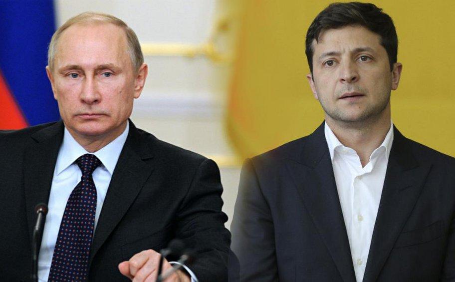 Πούτιν και Ζελένσκι συνομίλησαν, αλλά οι διαφωνίες τους παραμένουν