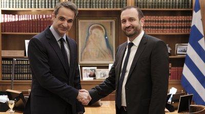 Συνάντηση Μητσοτάκη με τον πρόεδρο του Οικονομικού Επιμελητηρίου - Τι συζήτησαν