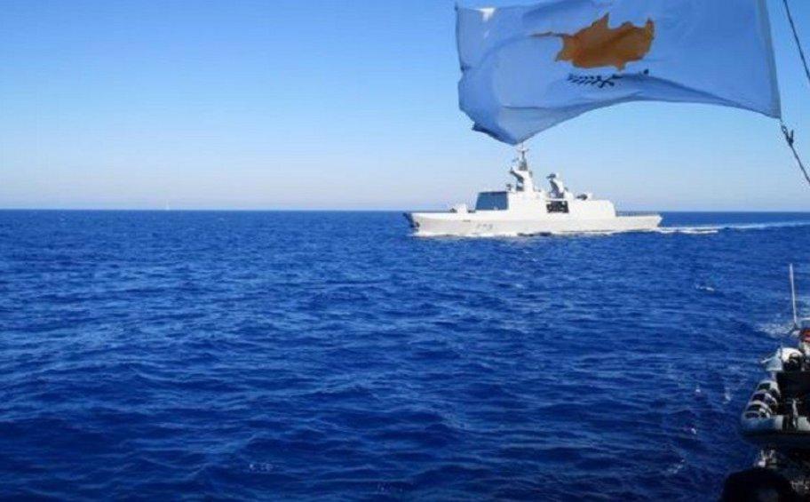 Κοινή ναυτική άσκηση Κύπρου, Γαλλίας, Ιταλίας εντός κυπριακής ΑΟΖ
