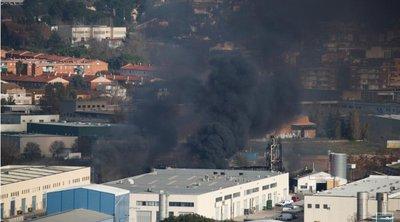 Βαρκελώνη: Πυρκαγιά σε χημικό εργοστάσιο - Εκκενώθηκε περιοχή στην Καταλονία