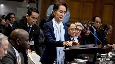 Η ηγέτιδα της Μιανμάρ Αούνγκ Σαν Σου Κι αρνήθηκε ότι ο στρατός της χώρας είχε «σκοπό τη γενοκτονία» των Ροχίνγκια