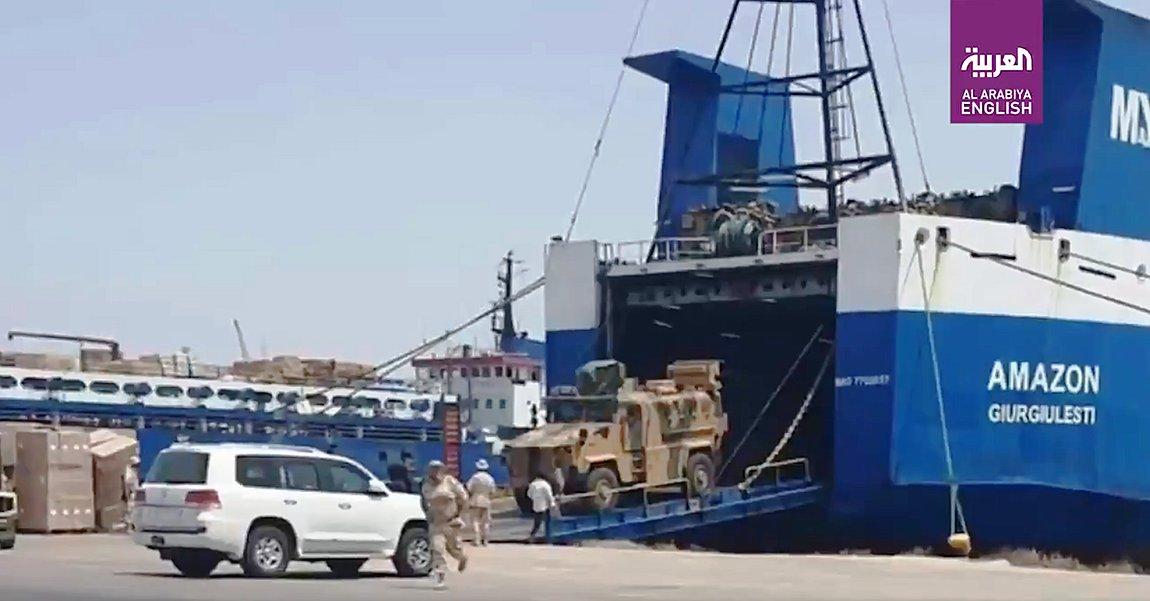 Νέα ντοκουμέντα για τα τουρκικά τεθωρακισμένα που μεταφέρθηκαν στη Λιβύη - ΒΙΝΤΕΟ
