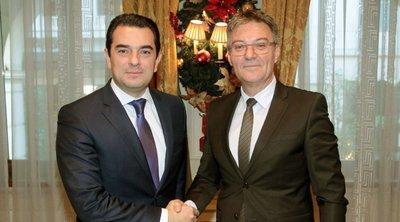 Την ανάπτυξη της ελληνοσερβικής συνεργασίας στον αγροτικό τομέα συζήτησαν ο Κ. Σκρέκας με τον Σέρβο ομόλογό του