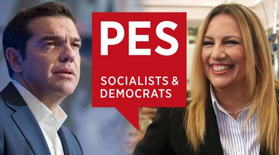 Το PES υιοθέτησε το αίτημα Τσίπρα-Γεννηματά για περαιτέρω μέτρα και κυρώσεις απέναντι στην Τουρκία