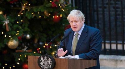 Τζόνσον: Θα τιμήσουμε τη σαρωτική εντολή για Brexit - Εκανε έκκληση για ενότητα