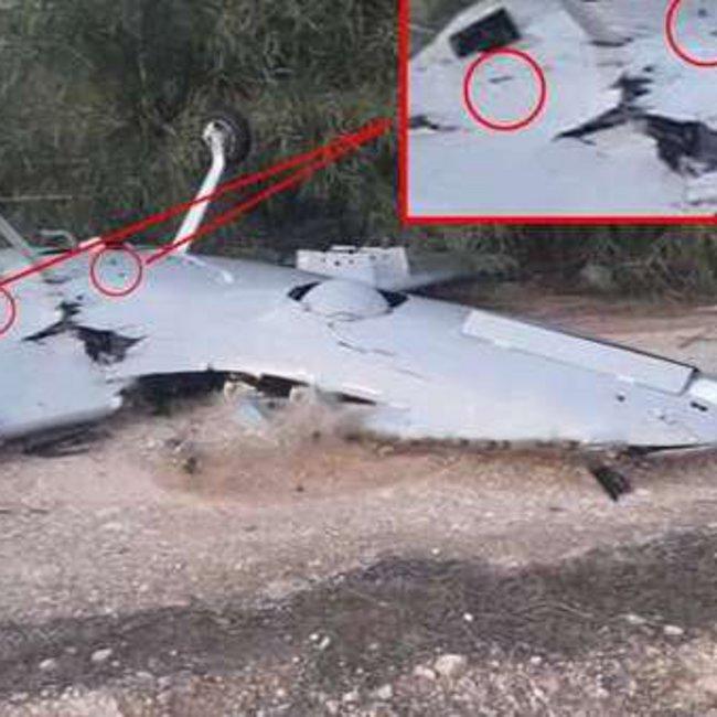Κατάρριψη τουρκικού UAV στη Λιβύη από ρωσικό αντιαεροπορικό - Φωτογραφίες