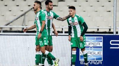 Σε θέση... play off ο Παναθηναϊκός: Νίκησε 2-0 τη Λαμία