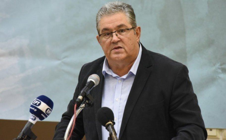 Δ. Κουτσούμπας: Λαϊκή εγρήγορση για να αντιμετωπισθούν τα προβλήματα της Ελλάδας