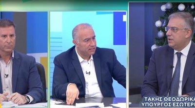Θεοδωρικάκος: Χρειάζεται εθνική ενότητα απέναντι στις τουρκικές προκλήσεις