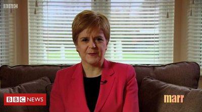 Στέρτζον: Ο Τζόνσον δεν μπορεί να κρατήσει τη Σκωτία στο Ηνωμένο Βασίλειο παρά τη θέλησή της