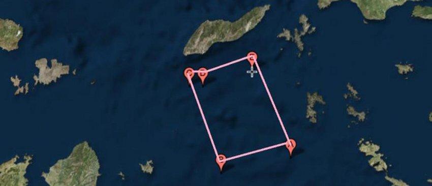 Kλιμακώνει την ένταση η Αγκυρα: Νέα NAVTEX στην «καρδιά» του Αιγαίου - Ο Ερντογάν κάνει σχέδια για γεωτρήσεις νότια του Καστελλόριζου