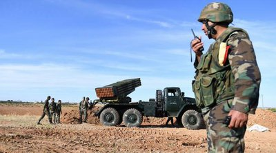 ΜΜΕ Συρίας: Η συριακή αντιαεροπορική άμυνα απέκρουσε ισραηλινή επίθεση στην περιοχή της Δαμασκού
