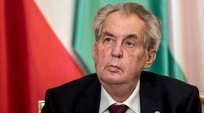 Ο πρόεδρος της Τσεχίας Μίλος Ζέμαν ζήτησε συγνώμη από τους Σέρβους για τους βομβαρδισμούς του 1999