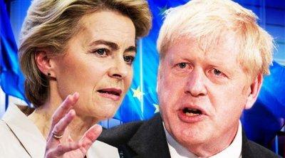 Κατέρρευσαν ξανά οι συνομιλίες ΕΕ-Βρετανίας για τη μετά Brexit εποχή - Επικοινωνία Φον ντερ Λάιεν - Τζόνσον το Σάββατο