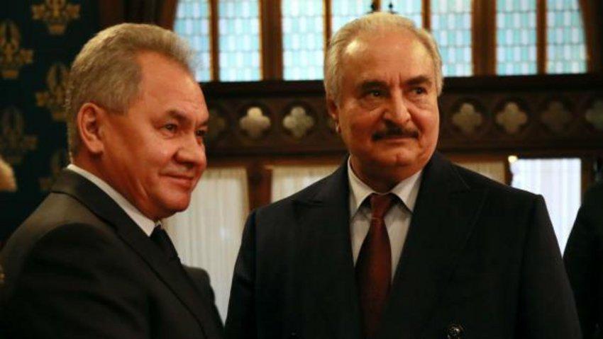 Ο Χαφτάρ έφυγε από τη Μόσχα χωρίς να υπογράψει συμφωνία κατάπαυσης του πυρός