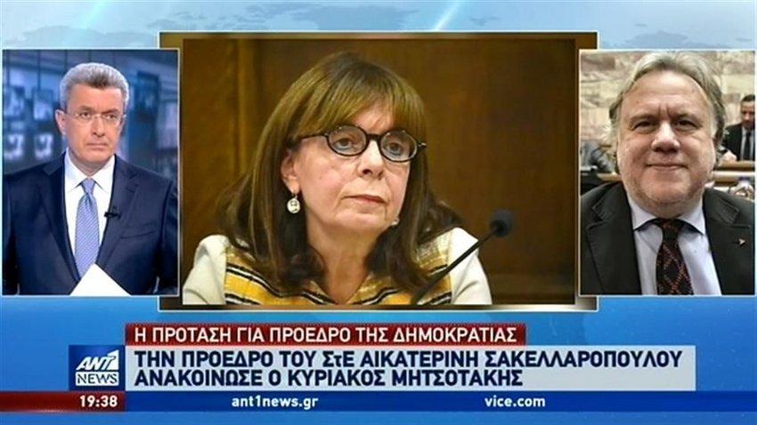 Κατρούγκαλος στον ΑΝΤ1: Το θεσμικό ατόπημα Μητσοτάκη για την Αικατερίνη Σακελλαροπούλου