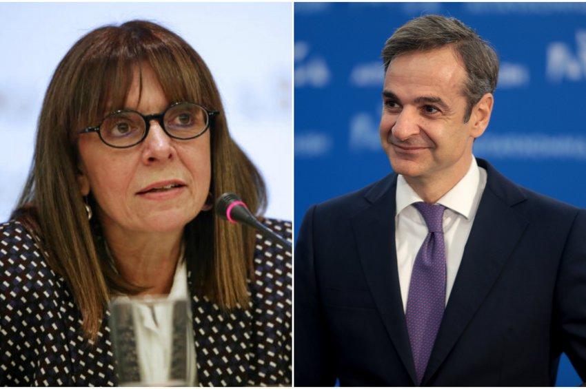 Την Αικατερίνη Σακελλαροπούλου, προτείνει ο Μητσοτάκης για Πρόεδρο της Δημοκρατίας