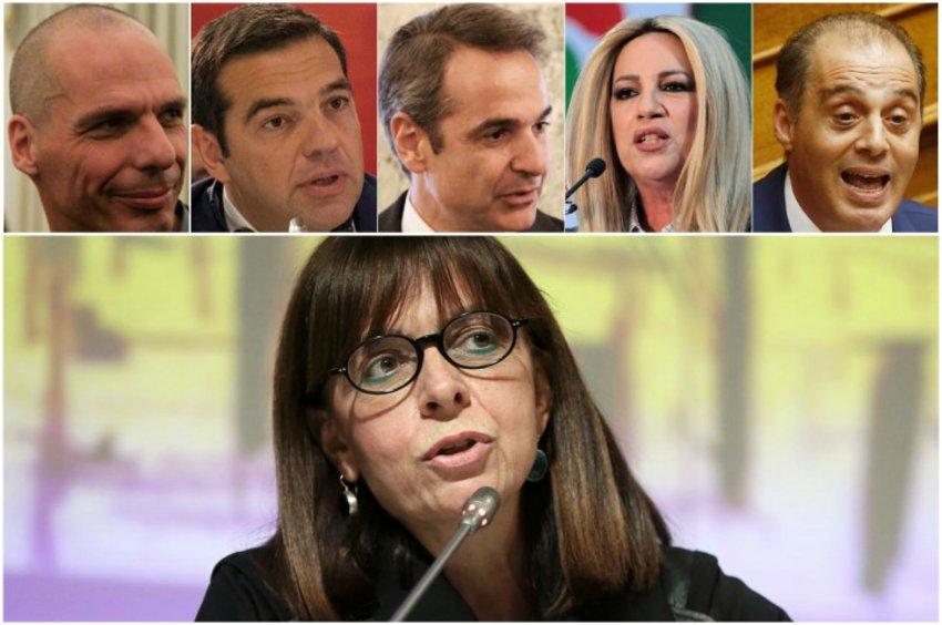 Η Αικ. Σακελλαροπούλου εκλέγεται με ευρύτατη πλειοψηφία - Ομόφωνο «ναι» από ΣΥΡΙΖΑ, ΚΙΝΑΛ - Η στάση Βελόπουλου και ΜέΡΑ25
