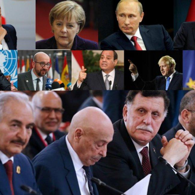 Οι πυρετώδεις διπλωματικές κινήσεις ενόψει της Διάσκεψης για τη Λιβύη  - Τι θα συζητήσουν