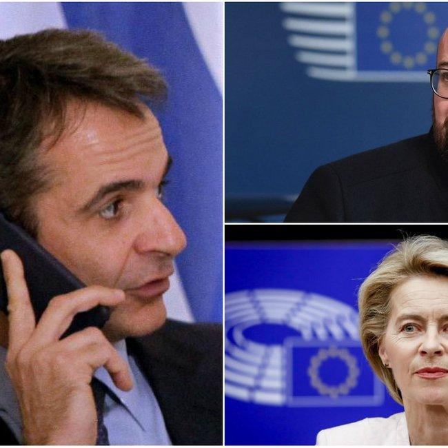 Εντονες πιέσεις Μητσοτάκη σε Ευρωπαίους: Nα εκφράσετε τις θέσεις μας στη Διάσκεψη του Βερολίνου για τη Λιβύη